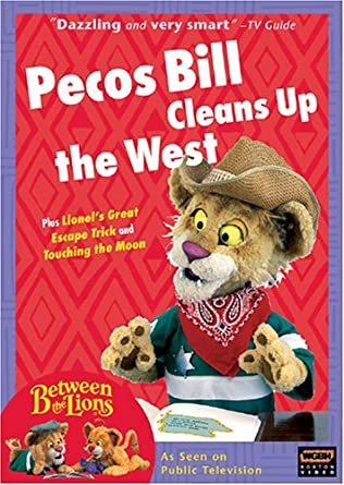 Amazon.com: Between the Lions - Pecos Bill Cleans Up the West ...