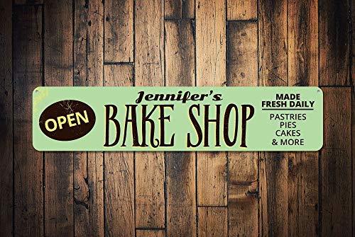 qidushop Bake Shop Cartel Abierto Personalizado para ...