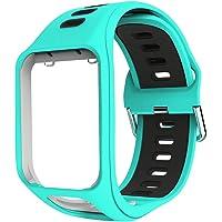 Horloge Strap Vervanging Voor TomTom Golfer 2 Spark 3 Runner 2 Runner 3 Adventurer Serie, Comfortabele Wirst Band…