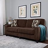 Serta RTA Palisades Collection 78' Sofa in Riverfront Brown