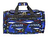 Jenzys Shark Print Duffel Bag