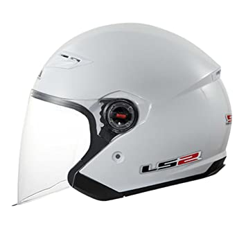 LS2 of569 Rock Jet Casco blanco Talla:L (59/60)