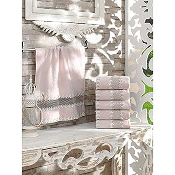 Serra Home Hotel & Spa Toalla de mano de bambú bordado 50 x 90 cm debe ...