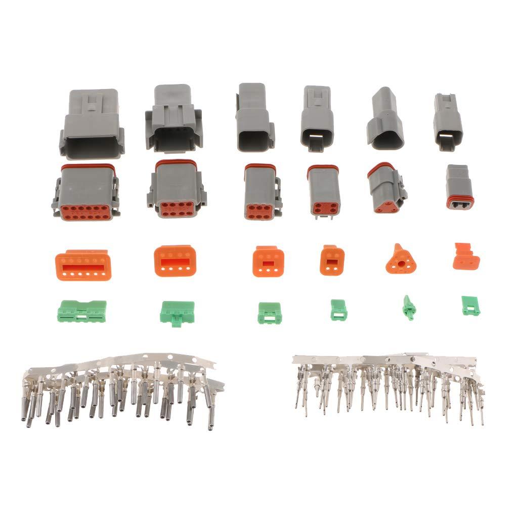 B Blesiya Kit de Connecteur de Fil Facile /à Installer