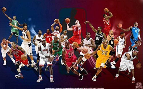 LeBron James Basketball Player Sportsman 12 x 18 Inch Quoted Multicolour Rolled Poster from Posters Royale