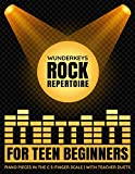 WunderKeys-Rock-Repertoire-For-Teen-Beginners-Piano-Pieces-In-The-C-5Finger-Scale--With-Teacher-Duets