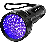 UV Flashlight Black light UV Lights , Vansky 51 LED Blacklight Pet Urine Detector For Dog/Cat Urine,Dry Stains,Bed Bug, Matching with Pet Odor Eliminator