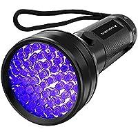 UV Flashlight Black light UV Lights, Vansky 51 LED...