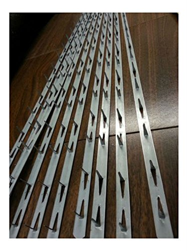 "10 pieces Metal Tack Strips 30"" Long Upholstery"