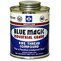 J.C. Whitlam IG16 Blue Magic Industrial Grade Pipe Thread Compound, 16-Ounce by J.C. Whitlam