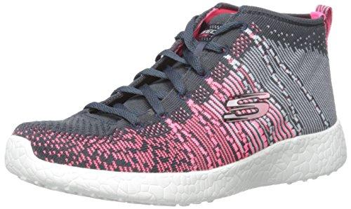 Multi Femme Skechers Baskets Pink Gray Basses Burst 8S6wcXxq4P