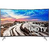 Smart TV Samsung Televisor Led 65in Curvo Smart TV UN65MU850DFXZA Full HD HDMI USB Renewed (Renewed)