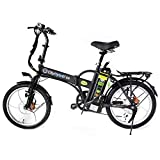 GreenBike Electric Motion City 350W 48V Folding Electric Bike – Black/Silver For Sale