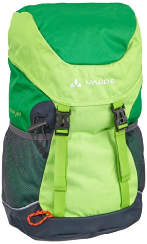 Vaude Unisex - Kinder Rucksack Puck 14, grass/applegreen, 48 x 25 x 18 cm, 14 Liter, 11420