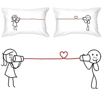 Amazon Com Boldloft Say I Love You Too Couple Pillowcases