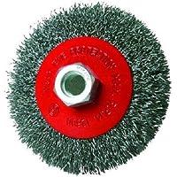Silverline 763625 - Cepillo circular de acero cardado