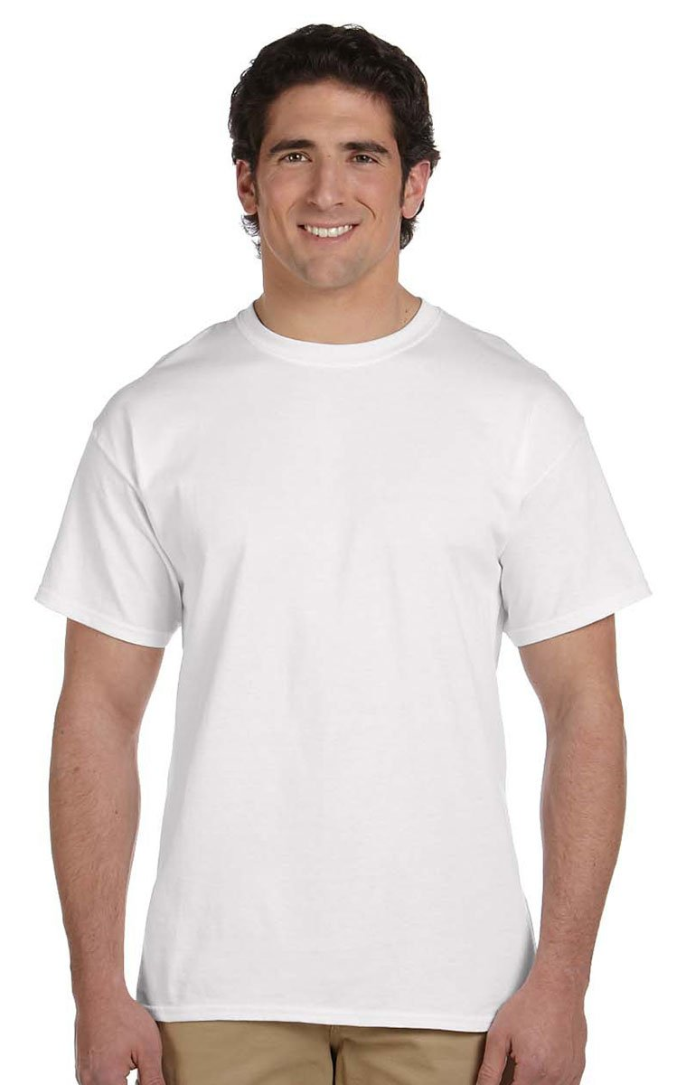 Fruit of the Loom 3930 100% Heavy Cotton Tee 6XL White (24-Pack) by Fruit of the Loom