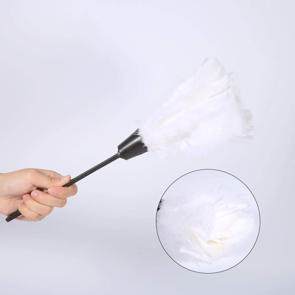 Bianca 5 Colori Maniglia per mobili per Auto Pulizia Tacchino Strumenti Morbidi Rosvola Pennello per Piumino