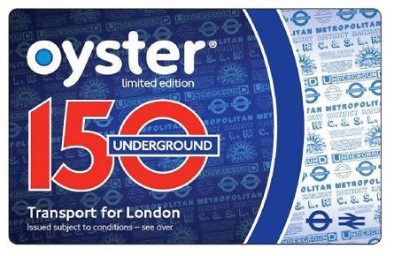 TFL Oyster Card - Tarjeta de transporte de Londres edición ...