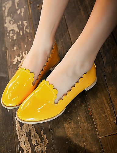 us6 Yellow Exterior Casual Green 5 De 5 Semicuero Zapatos Punta Uk4 Rosa Redonda Tacón Mujer Cn37 us6 Naranja Mocasines Zq 5 Plano 5 Amarillo Eu37 Gyht negro Rojo 7 7 vWFzqTwp
