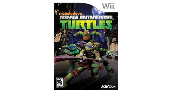 Activision Teenage Mutant Ninja Turtles, Wii - Juego (Wii ...
