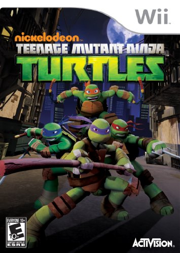 Teenage Mutant Ninja Turtles - Nintendo Wii (Best 4 Player Wii Games)