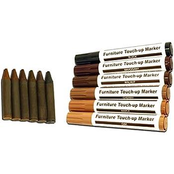 Amazon Com Guardsman Wood Repair Filler Sticks 5 Colors