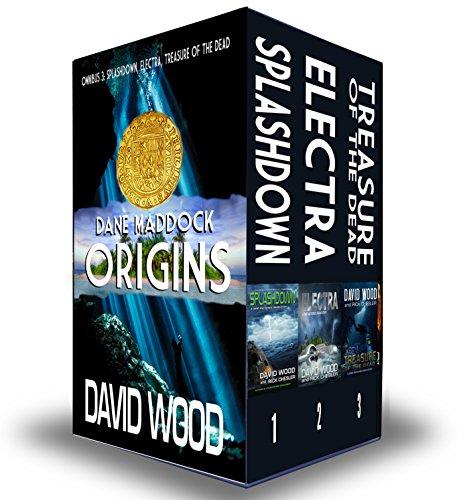 The Dane Maddock Origins- Omnibus 3 cover