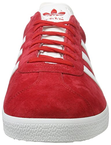 Sneaker Met Basses ftwr White scarlet Rouge gold W Gazelle Homme Adidas ZqvEgUE