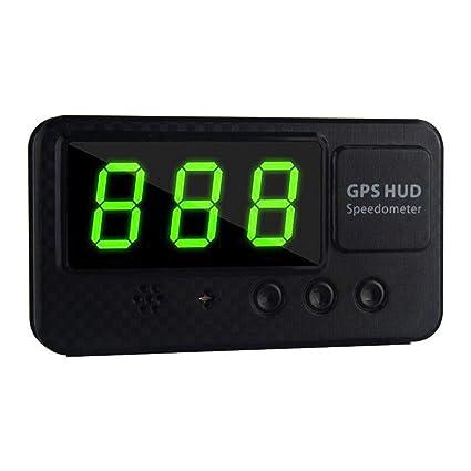 Augneveres C60S - Velocímetro Digital Universal para Coche, GPS, Pantalla de Velocidad KM/