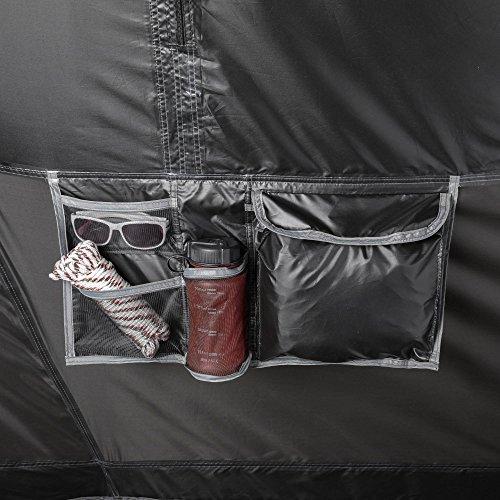 Ozark Trail 20′ x 10′ Dark Rest Instant Cabin Tent, Sleeps 12