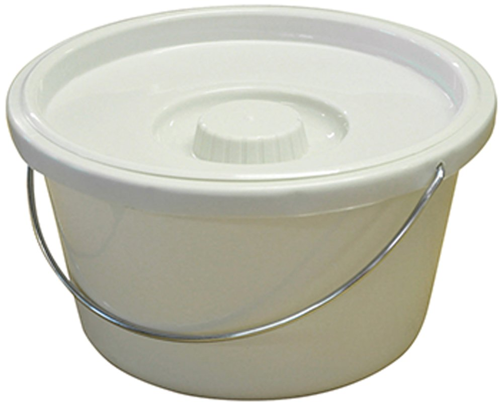7.5L Commode Bucket and Lid Electrovision VS213