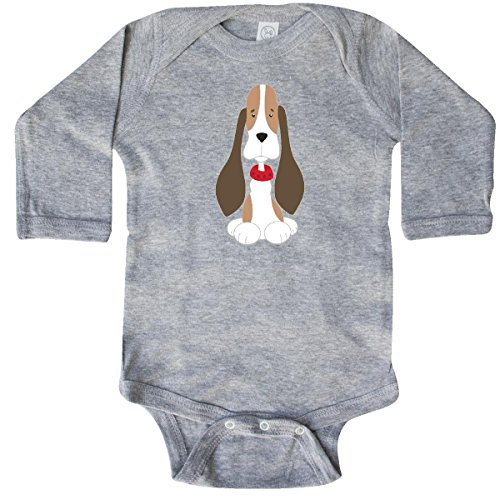 inktastic - Basset Hound with Long Sleeve Creeper Newborn for sale  Delivered anywhere in USA