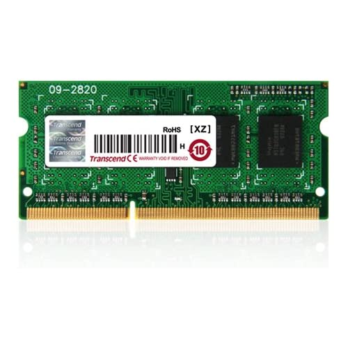 chollos oferta descuentos barato Transcend TS512MSK64W6N Memoria RAM de 4 GB 204 Pin SO DIMM DDR3 SDRAM 1600 MHz 2Rx8
