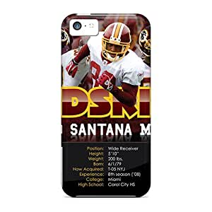 Best Cell-phone Hard Covers For iPhone 5 5s With Support Your Personal Customized Realistic Washington Redskins Image JamieBratt