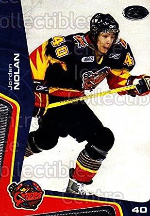 b86495e020f Amazon.com: (CI) Jordan Nolan Hockey Card 2005-06 Erie Otters 7 ...