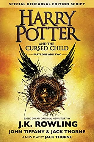 book cover of Harry Potter and the Cursed Child, Parts I & II