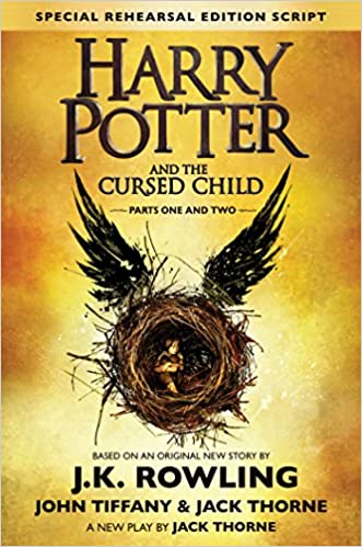Image result for harry potter and the cursed child cover amazon