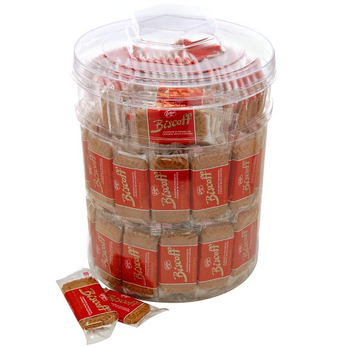 Biscoff Biscoff with Chocolate Clear Cookie Jar