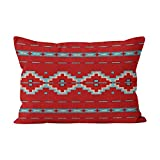 Suklly Beauty Southwest Mesas Red Hidden Zipper Home Decorative Rectangle Throw Pillow Cover Cushion Case Standard 20x26 Inch One Side Design Printed Pillowcase