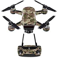 Skin for DJI Spark Mini Drone Combo - Urban Camo| MightySkins Protective, Durable, and Unique Vinyl Decal wrap cover | Easy To Apply, Remove, and Change Styles | Made in the USA