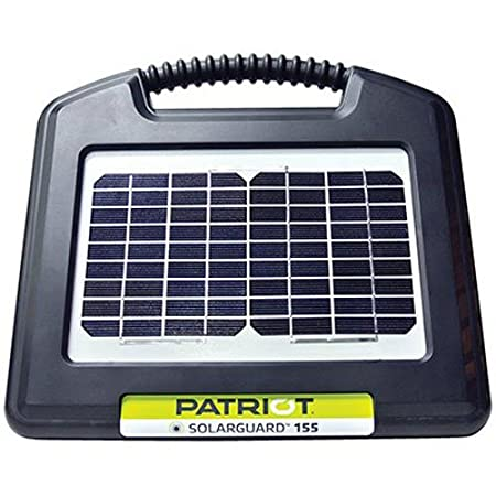 front facing patriot solarGuard 155 fence energizer