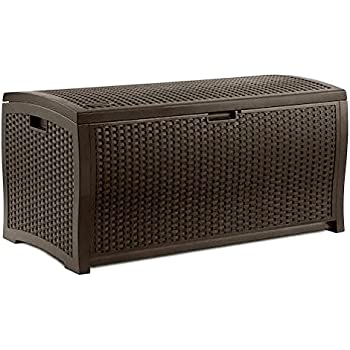 Amazon Com Pool Deck Storage Box And Bench Is 2 In 1
