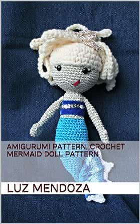 Cute Mermaid Crochet Pattern (Amigurumi) in 2020   Mermaid crochet ...   445x279