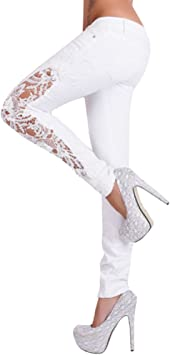 MINXINWY Pantalones Vaqueros Mujer Slim fit, Pantalones Mujer el ...