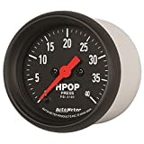 "Auto Meter 2696 Z-Series 2-1/16"" Full Sweep Electric Diesel HPOP Pressure"