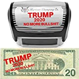 Donald Trump 2020 No More BS Self-Inking Stamp | by 'Merican Stamping Co. | Donald Trump Lives Here Re-Elect Donald Trump 2020 Self-Inking Stamp