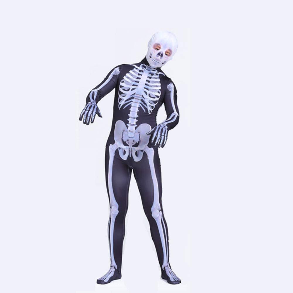 Hero-costume Disfraz De Esqueleto Nino Adulto Hombre Traje Cosplay ...