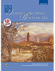 Italian Art Songs of the Romantic Era: Medium High Voice, Book & CD