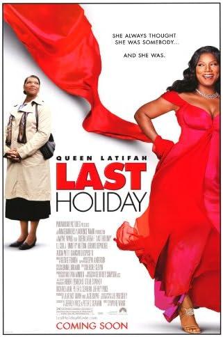 Amazon.com: Pop Culture Graphics Last Holiday Poster 27x40 Queen Latifah  Cynthia Leblanc Elton Leblanc: Kitchen & Dining